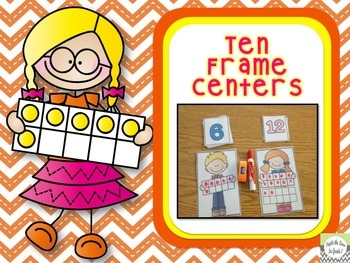 Ten Frame Centers