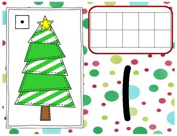 Ten Frame Christmas Mats