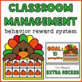 Classroom Management Behavior Reward System   Turkey Ten Frame