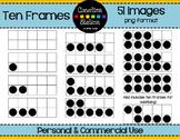 Ten Frame Clip Art