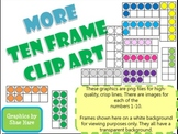 Ten Frame Clip Art **MORE COLORS!** 0-10 - Common Core Math Aid
