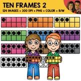 Digital Graphics - Ten Frame Clipart 1
