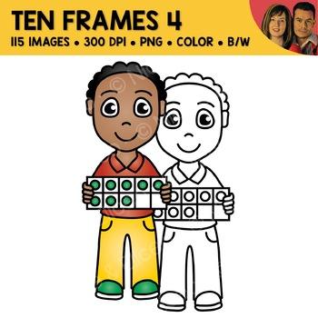 Digital Graphics - Ten Frame Clipart 3