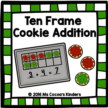 Ten Frame Cookie Addition