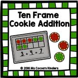 Ten Frame Cookie Addition