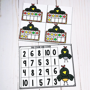 Ten Frame Counting 1-10