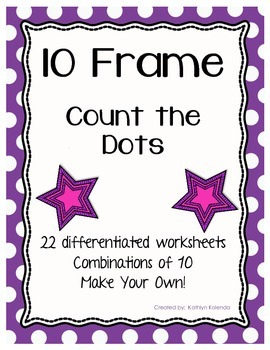 Ten Frame - Count the Dots