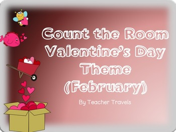 Ten Frame Count the Room February Theme