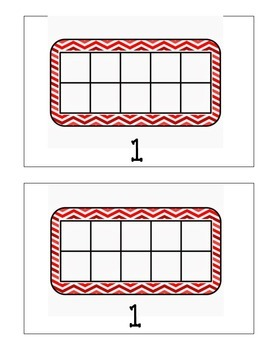 Ten Frame Counting Book