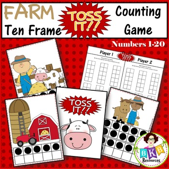 Ten Frame Counting Game