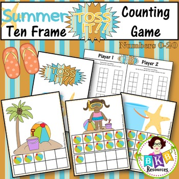 Ten Frame Game ● Ten Frame Counting 0-20 ● Summer Math Center