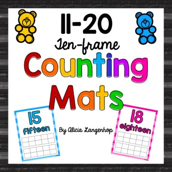 Ten-Frame Counting Mats 11-20
