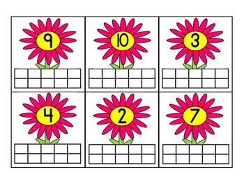 Ten Frame Counting Mats