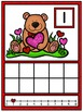 Ten Frame Counting Mats - Valentine's Day