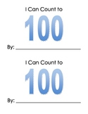 Ten Frame Counting to 100 Printable Book K.CC.1