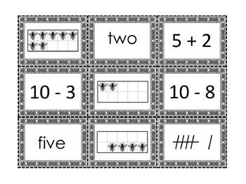 Ten Frame Coverup Game