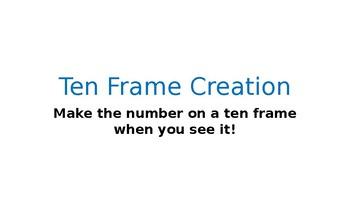 Ten Frame Creation Center