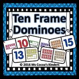 Ten Frame Domino Game