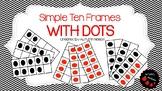 Ten Frame Dot Cards