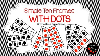 Ten Frame Dot Cards
