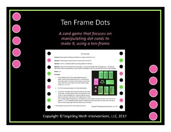 Ten Frame Dots