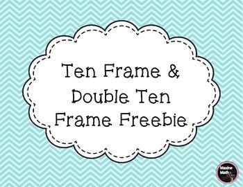 Ten Frame & Double Ten Frame Freebie