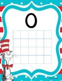 Ten Frame Dr. Seuss Number Poster