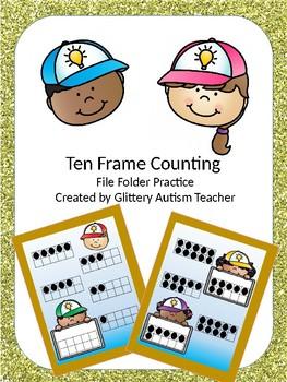 Ten Frame File folder