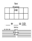 Ten Frame Fill