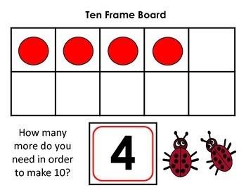 Ten Frame Fill Boards