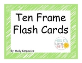 Ten Frame Flash Cards 0-20