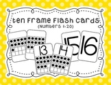 Ten Frame Flash Cards