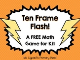 Ten Frame Flash Math Game