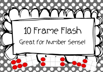 Ten Frame Flash (Number Sense Practice)