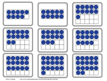Ten Frame Activities