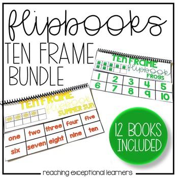 Ten Frame Flipbooks Through the Year