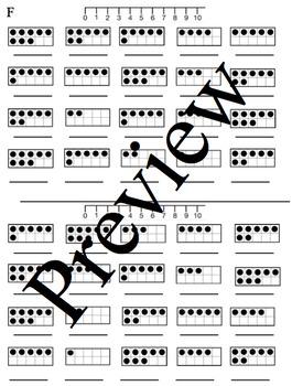 Ten Frame Fluency Level F