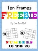 Ten Frame Freebie