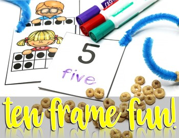Ten Frame Activity for Kindergarten