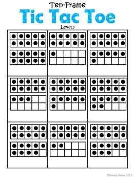 Ten-Frame Fun-Differentiated & Engaging Games & Activities to Build Number Sense