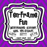 Ten-Frame Fun-Differentiated & Engaging Games & Activities