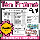 Ten Frames: Flowers