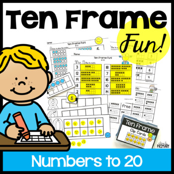 Subitizing Dot Cards 1-20 With Tens Frame Teaching Resources ...