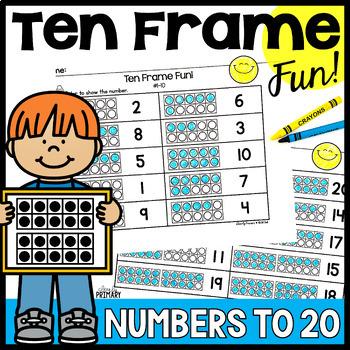 20 Frame Worksheet Teaching Resources Teachers Pay Teachers