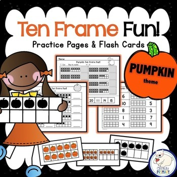 Ten Frames: Pumpkins