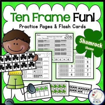 Ten Frames: Shamrocks