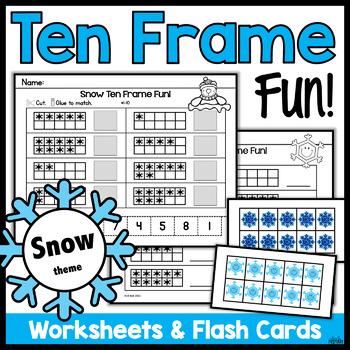 Ten Frames: Snow