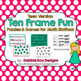 Ten Frame Fun:  Teen Version