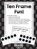 Ten Frame Fun!  Ten Frame Activities and Games