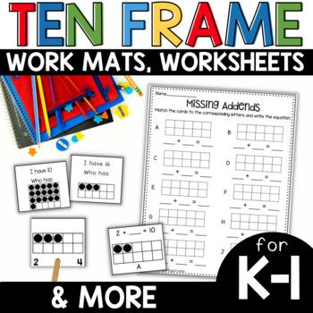 Ten Frame Fun and More